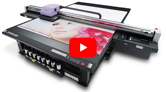 Imprimante UV LED grand format Mimaki JFX200